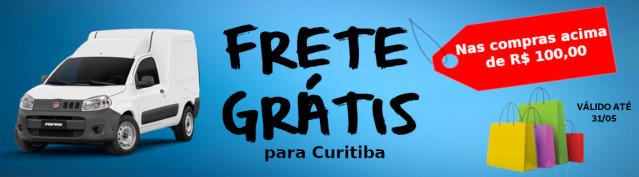 Frete Gratis para Curitiba
