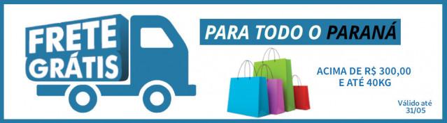 Frete Gratis para o Paraná