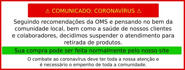 Aviso: CoronaVirus
